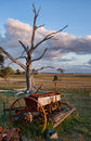 Old Farm Machinery In Field Royalty Free Stock Photo - 10968665