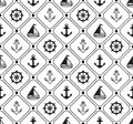Marine Seamless Pattern. Suitable For Wallpaper, Paper, Decoration. Royalty Free Stock Images - 109620989