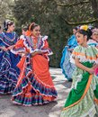 Mexican Dancers In Parade Royalty Free Stock Photo - 109688955