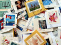 Canada Postage Stamps Royalty Free Stock Photography - 10977527