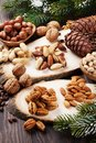 Various Nuts Stock Photography - 109845532