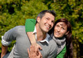 Couple Pair Outdoor Royalty Free Stock Photography - 10993717