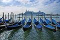Gondola In Venice Grand Canal Royalty Free Stock Images - 11005609