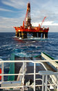 Anchor Handling Of Semi Submergible In North Sea Royalty Free Stock Photo - 11009675