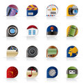 Internet, Computer And Mobile Phone Icons Stock Image - 11010031