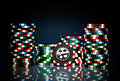 Gambling Chips Stock Photos - 11010053