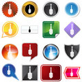 Multiple Buttons - Plunger Stock Photography - 11011432