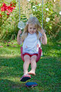 Backyard Swing Stock Photography - 11018562