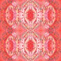 Seamless Ellipses Pattern In Red Shades Vertically Stock Photo - 110138890