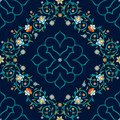 Vector Seamless Pattern In Eastern Style. Royalty Free Stock Photos - 110264948