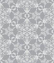 Snowflakes On Silver Background Royalty Free Stock Photo - 11044385