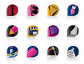 Different Kind Of Art Icons Royalty Free Stock Photo - 11048905