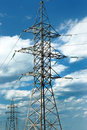 High Voltage Electric Line Royalty Free Stock Photo - 11052825