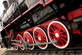 Wheels Of The Old Express Train Stock Image - 11056261