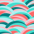 Abstract Wavy Texture. Seamless Pattern. Colorful. Stock Images - 110513584
