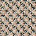 Vintage Floral Black And Pink Roses Repeat Background Shabby Chic Style Royalty Free Stock Image - 110572186