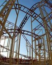 Roller Coaster Stock Photography - 11060492