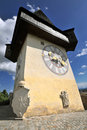 Old Clock Tower In Graz Royalty Free Stock Photo - 11064495