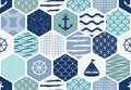 Set Of Art Deco Seamless Patterns. Stylish Modern Textures. Abstract Backgrounds Royalty Free Stock Photos - 110774768