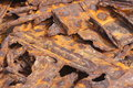 Twisted Rusted Metal Wreck Stock Photos - 11083333