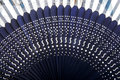 Chinese Bamboo Fan Close-up Royalty Free Stock Photography - 11090667