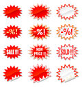 Sale Stickers Set Royalty Free Stock Images - 11094299