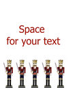 Nutcrackers Border Stock Images - 11095314