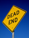 Dead End Sign Stock Image - 1115031