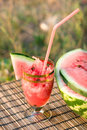 Juice Of Water-melon Royalty Free Stock Image - 11109616