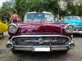 Historical American Car Perfectly Restored Royalty Free Stock Images - 111037599