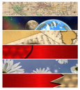Six Different Banners 11 Stock Photos - 11112253