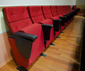 Red Chairs In The Hall Stock Photography - 11112662