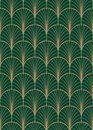 Art Deco Geometric Seamless Vector Pattern. Royalty Free Stock Photography - 111199017