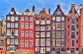 Amsterdam Colorful Old Houses Royalty Free Stock Images - 111200129