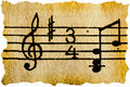 Music Notation Key Stock Photography - 11147322