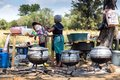 Roadside Food Stall In South Africa. Royalty Free Stock Image - 111549536