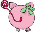 Funny Pig - Back Side Stock Photos - 11165833