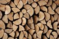 Cut Firewood Stack Logs As Pattern Royalty Free Stock Photos - 11166098