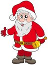 Cute Santa Claus With Bell Royalty Free Stock Photo - 11179535