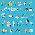 Set Of Flat Design Style People Icons Stock Images - 111875314