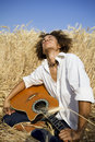 Playing Guitar Stock Images - 1123044