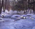 Winter Stream Royalty Free Stock Image - 11206036