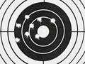 Target With Holes Stock Images - 11212074