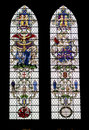 Colored Glass Windows In The Salisbury  Cathedral Stock Photo - 11223800
