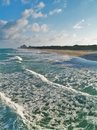 High Tide And Turquoise Green Water At Juno Beach Stock Photos - 112219503