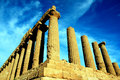 Valley Of The Temples Greek Ruins, Agrigento Italy Royalty Free Stock Photography - 11231627
