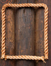 Rope Frame Royalty Free Stock Image - 11237846