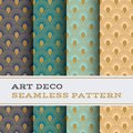 Art Deco Seamless Pattern 44 Stock Photos - 112367593