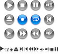 Player Icons. Stock Image - 11245721