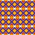African Style Seamless Pattern With Geometric Figures. Repeated Diamond Ornamental Background. Ethnic And Tribal Motif Stock Image - 112482351